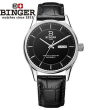 Switzerland men's watch luxury brand clock BINGER luminous Automatic self-wind full stainless steel Waterproof B5008-2