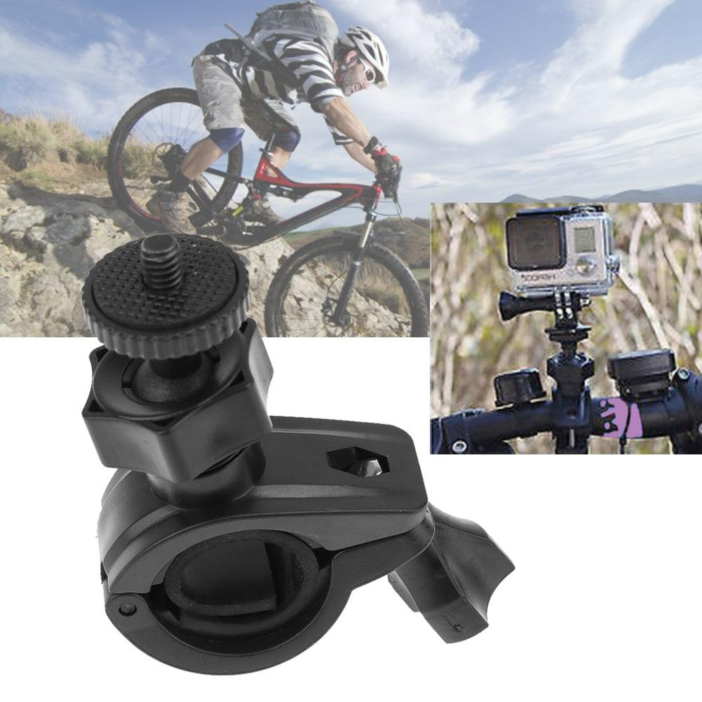 Rotatable Bike Bicycle Handlebar Mount Holder Adapter Motorbike Clip Support Bracket for GoPro Xiaoyi 4K Cameras High Quality