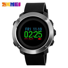 SKMEI 1336 Trendy Fashion Men Digital Calorie Pedometer Watch Compass OLED Sport Watches Waterproof Wristwatch Relogio Masculino