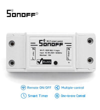 Sonoff WiFi Wireless Smart Switch Universal Smart Home Automation Relay Module With IOS Android APP Controller For DIY Home