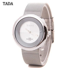 3ATM Waterproof Brand TADA Mesh Steel Band Japan Quartz Movement Women's Watches Fashion High Quality Lady Relos Wristwatches