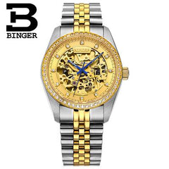 Switzerland BINGER Mens Watches Luxury Brand Automatic Mechanical Men Watch Sapphire Male Japan Movement reloj hombre B1107-2