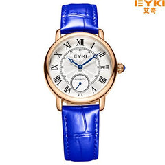 2017 Famous New Watches Women Luxury Brand Ladies Mechanical Watch Fashion Leather Strap Wristwatch Gift Clocks