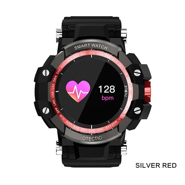 BOAMIGO Smart Watches Men Sports Watches Outdoor Wristwatch Call Message Reminder Pedometer Calories Bluetooth Waterproof Watch