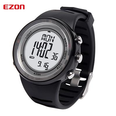 Sport Outdoor Climbing Watch for Men Women EZON Multifunction Sports Stop Watch Waterproof 5ATM Altimeter Barometer Wristwatch
