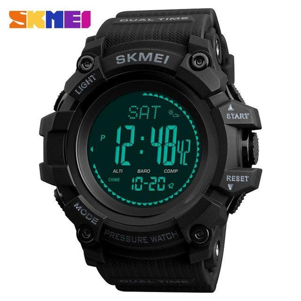 Men Sports Watches SKMEI Brand Outdoor Digital Watch Hours Altimeter Countdown Pressure Compass Thermometer Men's Wrist Watch