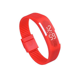 Watch Women Men Fashion 1PC Rubber LED Watch Date Sports Bracelet Digital Wrist Sport Watch relogio feminino