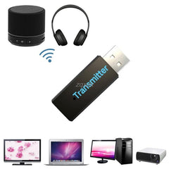 USB Bluetooth 3.0 Wireless Stereo Audio Music Transmitter For TV MP3 PC Laptop Drop Shipping