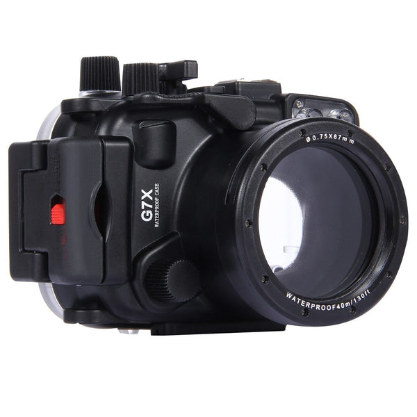 PULUZ PU7007 40m Waterproof Under Water Swimming Diving Camera Housing Case for Canon G7 X