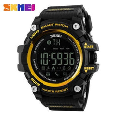 SKMEI Men Smart Watch Pedometer Calories Chronograph Fashion Outdoor Sports Watches 50M Waterproof Digital Wristwatches Clock