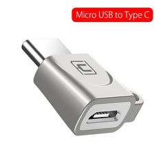 Cafele USB Type C OTG Adapter Micro USB to Type C / Type-C to USB 2.0 Adapter USB C Converter OTG Adapter