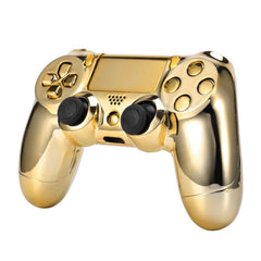 High Quality Gold Chrome Replacement Hydro Dipped Shell Mod Kit for PS4 Controller