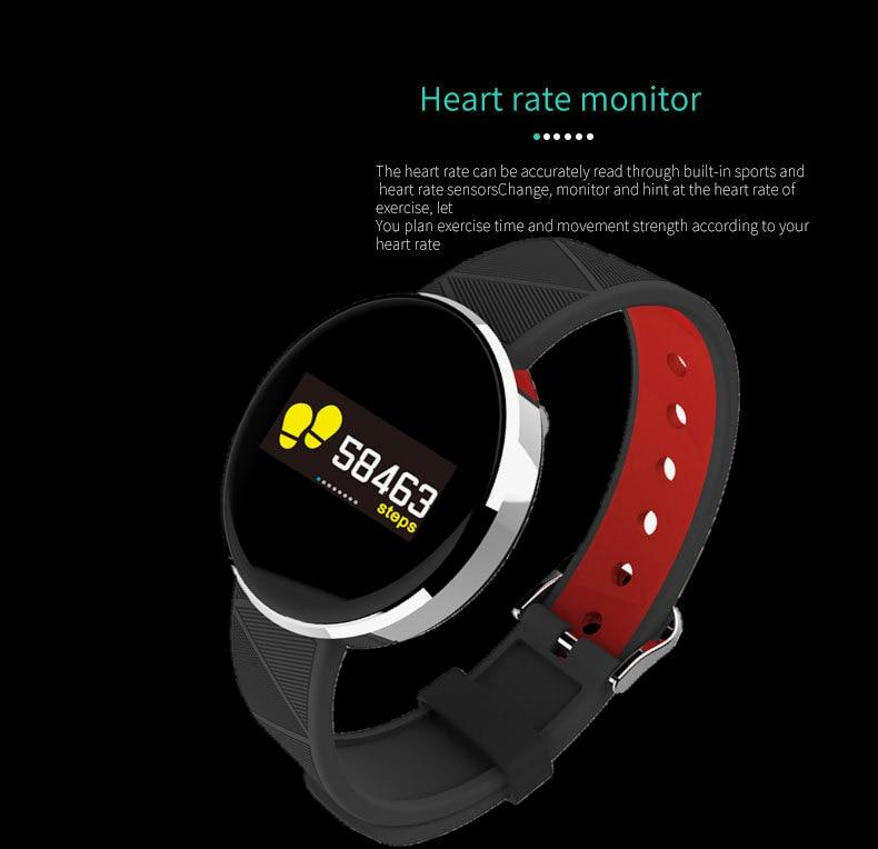 S12 Heart Rate Blood Pressure Smart Wristbands For Android IOS Fitness Tracker Sport Smart Watch Women Men Smart Bracelet Watch