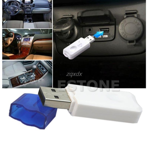 Wireless USB Bluetooth Stereo Audio Music Receiver Adapter For Car Home Speaker Drop Ship