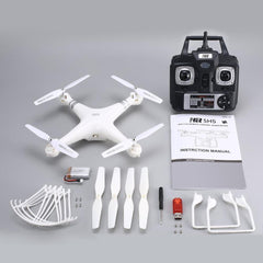 Upgraded SH5HD 2.4G 4CH Smart Drone RC Quadcopter Altitude Hold Headless Mode One Key Return LED Light Control Speed