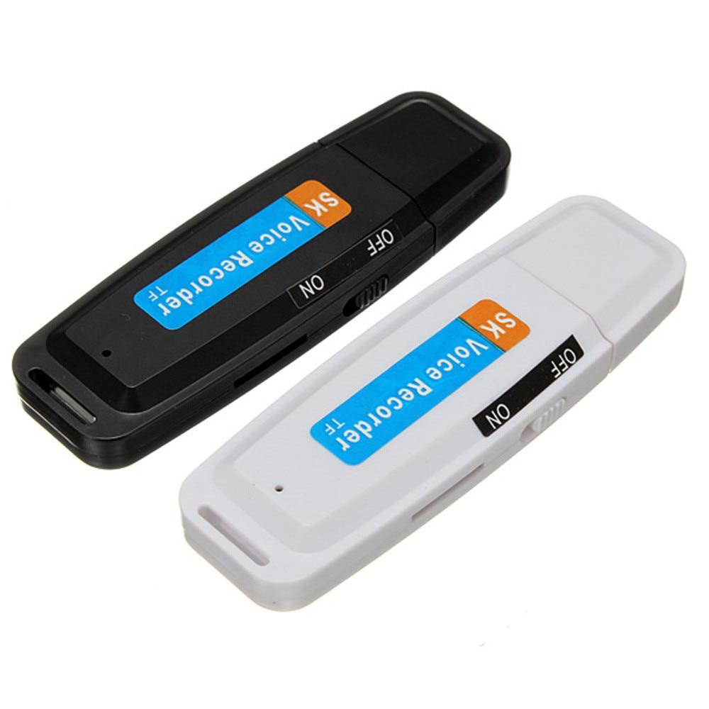 Hifi Mini USB Digital Pen Audio Voice Recorder Dictaphone 8GB Flash Drive U-Disk Rechargeable Li-ion battery Drop Shipping
