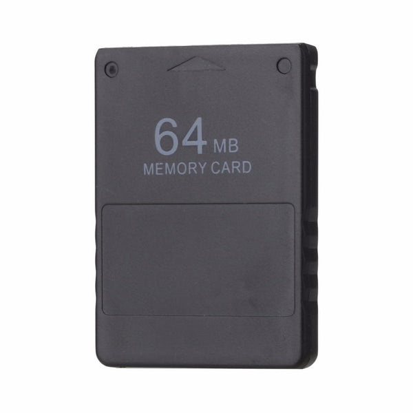 Black 64MB 64M Memory Card Game Save Saver Data Stick Module for Sony PS2 PS for Playstation 2 High Quality Game Tools Promotion