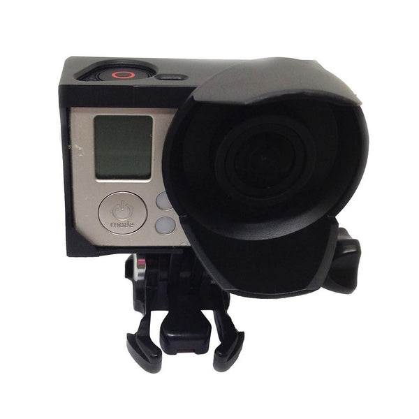 Hard Camera Protection Case Standard Border Frame Cover with Sun Shade for GoPro 3 GoPro 3+ Action Camera Accessories