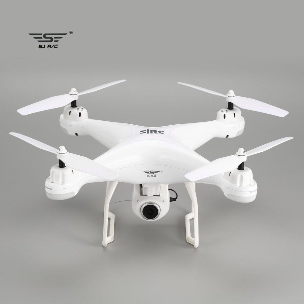 SJ R/C S20W FPV 720P 1080P Camera Selfie Altitude Hold Drone Headless Mode Auto Return Takeoff/Landing Hover GPS RC Quadcopter