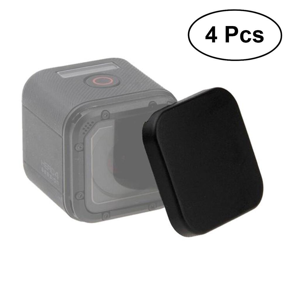 4Pcs Protective Case for GoPro Hero Sport Camera with Lens Cap Wonderful High Quality Material Covers for GroPro Action Camera and Lens