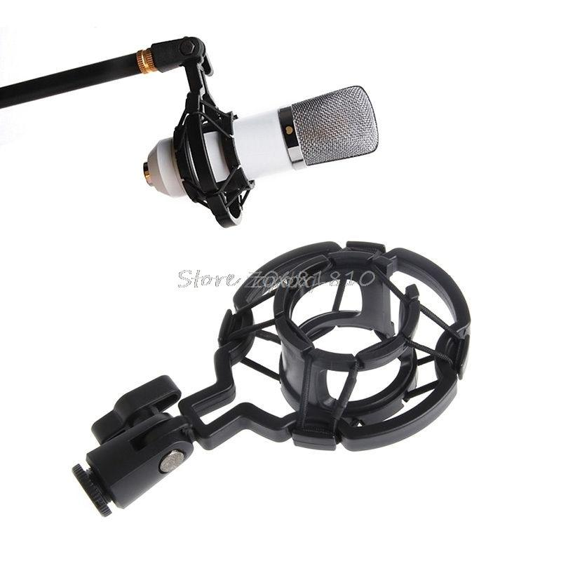 OOTDTY Universal Mic Microphone Shock Mount Holder Clip Stand For Studio Recording Z09 Drop ship
