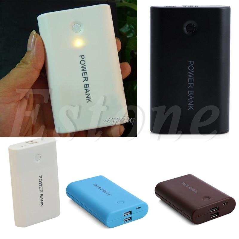 USB Power Bank Case Kit 3X 18650 Battery Charger Case DIY Box For Phone MP3/4 Z17 Drop ship