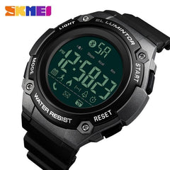 SKMEI Men Smart Sports Calorie Pedometer Watch Call Reminder Clock Distance Countdown 50M Waterproof Clock Relogio Masculino