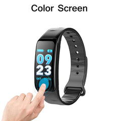 New Smart Bracelet BANGWEI electronic bracelet color LED watch activity fitness tracker blood pressure heart rate IP67 waterproo
