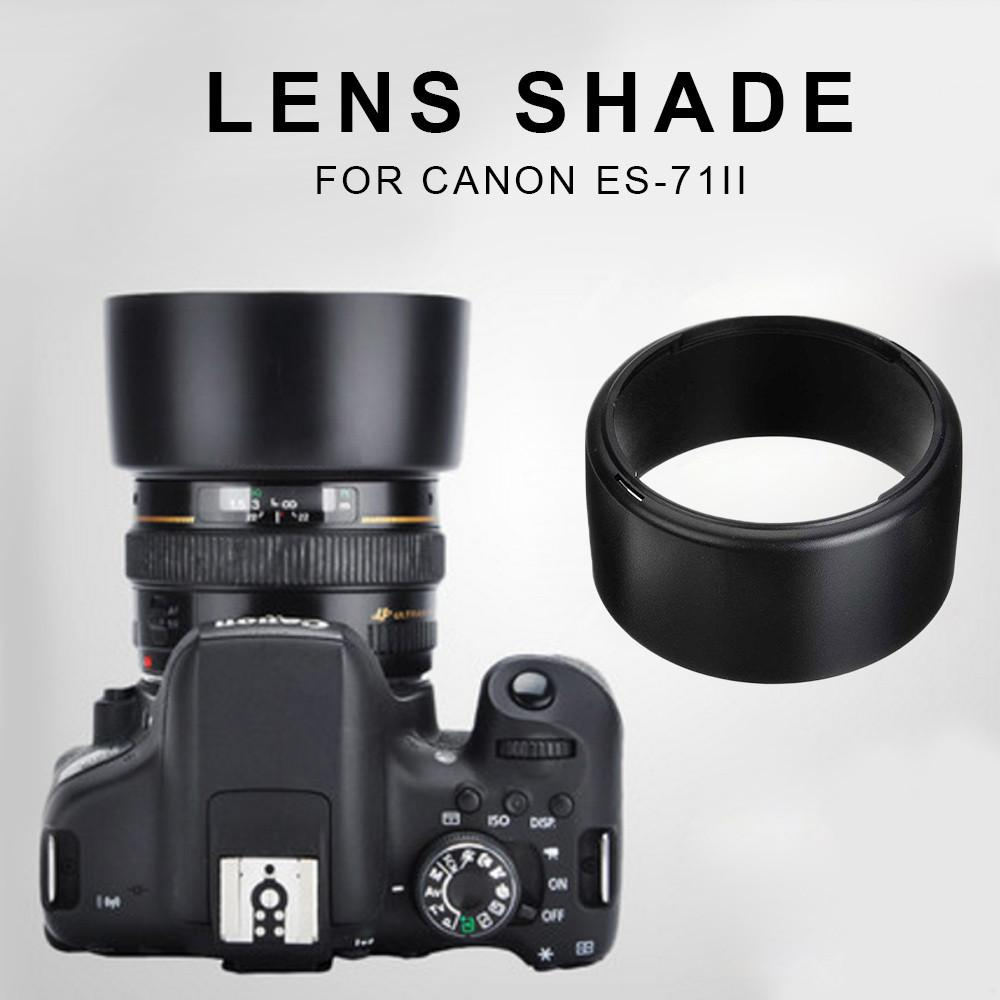 Lens Shade Lens Hood Compact Reduce Reflection Photography Lens Cover ABS Bayonet DLSR Camera