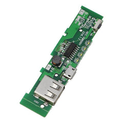 USB 5V 2A Mobile Phone Power Bank Charger PCB Board Module For 18650 Battery Z17 Drop ship