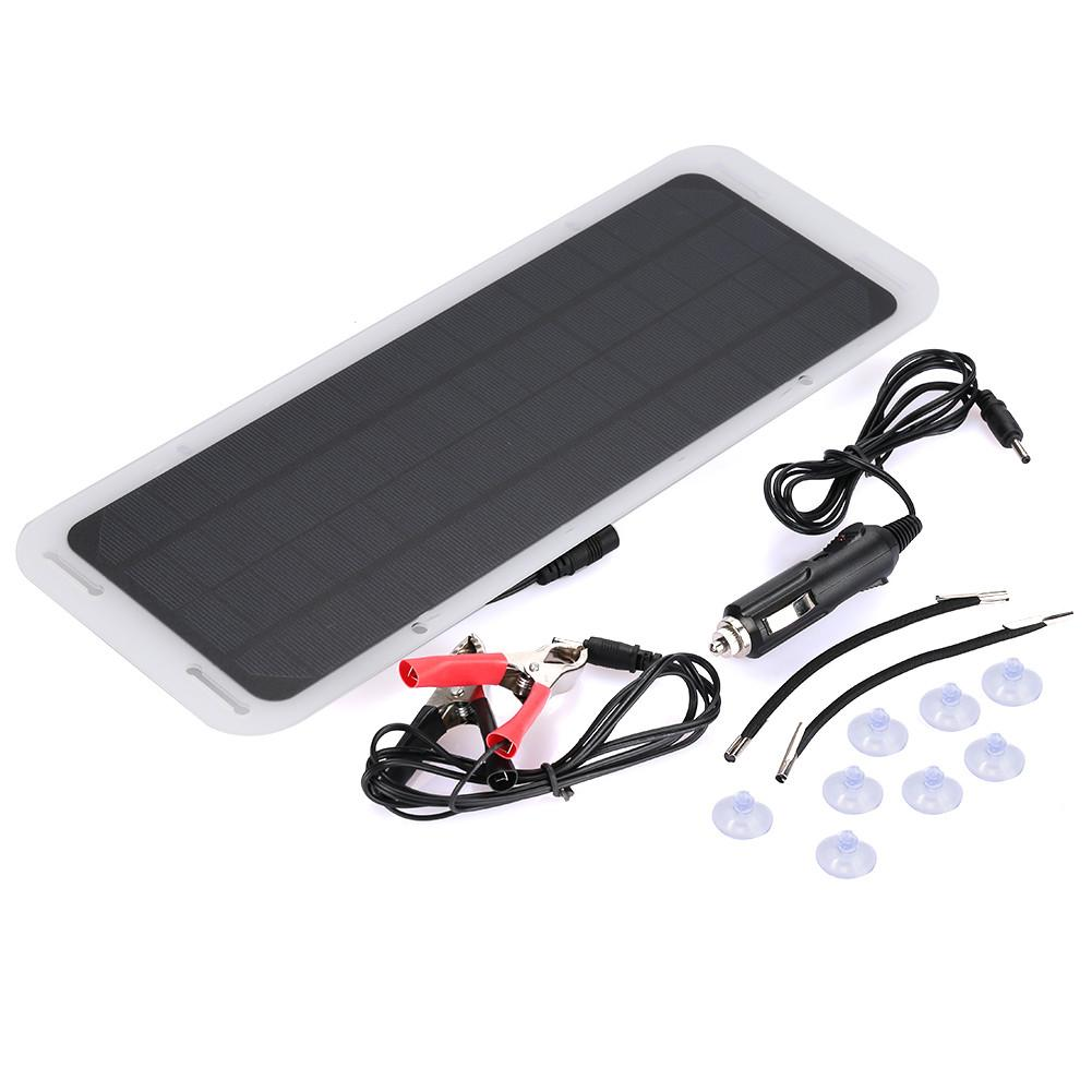 Solar Panel External Battery Charger Ultra Slim Tablet Trickle Power Bank 5.4W 18V Automobile Mobile Phone