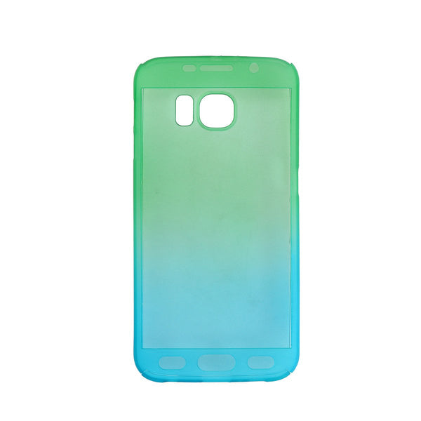 Phone Protective Cover Case Mobile Protector Soft Guard with Tempered Glass Screen Protector for Samsung Galaxy S6