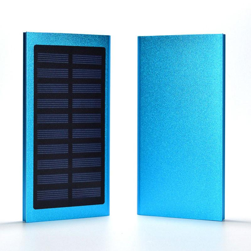 USB LCD Solar Power Bank Charger Case Shell Kit DIY For Mobile Phone PC Tablet