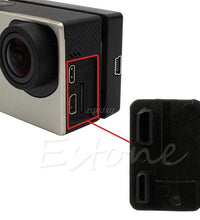 Replacement USB Side Door Cover Case Cap hat Repair Part For GoPro Hero 3 3+ 4 Z17 Drop ship