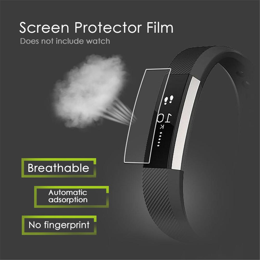 2PCS HD TPU Full-screen Explosion-proof Screen Protector Film For Fitbit Alta Watch