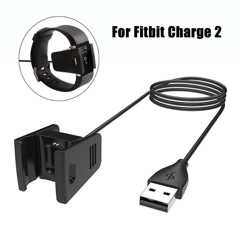 Quick Replacement Charger USB Cable for Fitbit Charge 2 Bracelet Wrist Band For Fitbit Charge2 Fit bit Wristband Dock Adapter