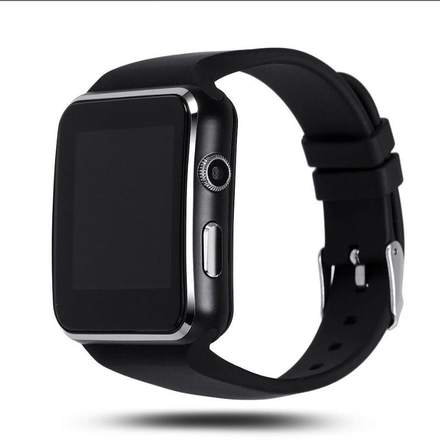 Bluetooth Smart Watch X6 Wristwatch Relojes Sim Tf Card Mtk6261D Camera Wrist Watch