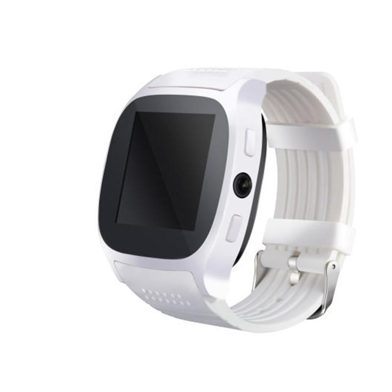 T8 Smart Watch With Bluetooth Support Sim Tf Card Camera Answer Phone Smartphone