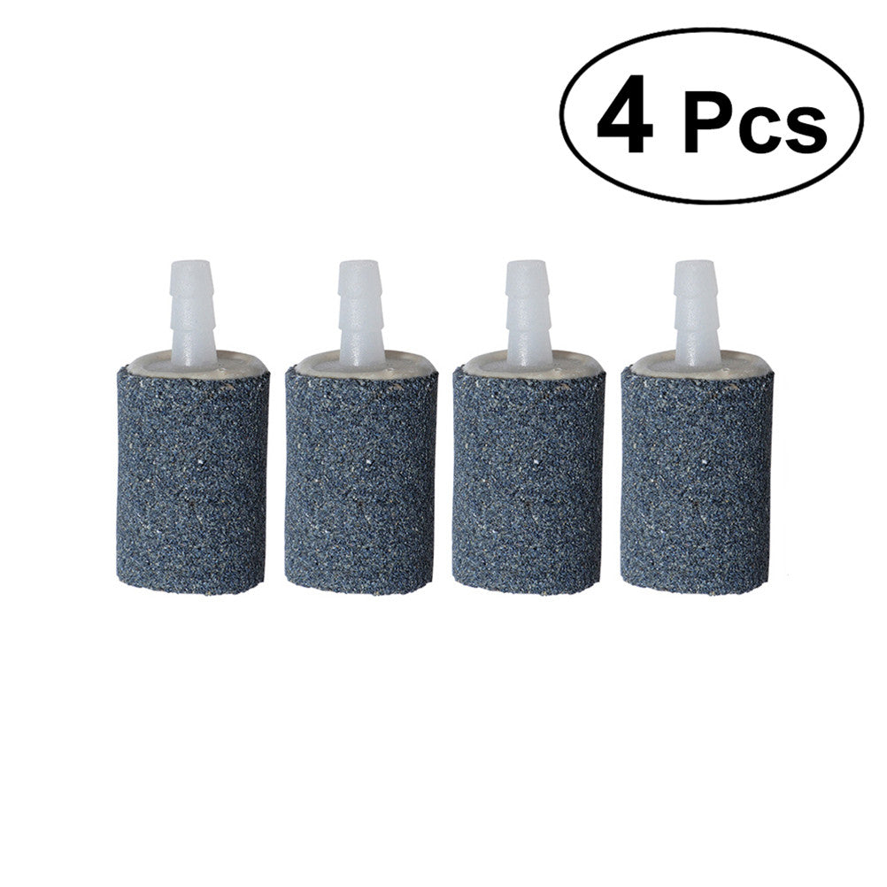 4Pcs Air Stone Mineral Bubble Diffuser Airstones Diffuser for Aquarium Fish Tank Pump Hydroponics
