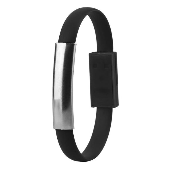 Fashionable Creative USB Charging Cable Wrist Bracelet Data Sync Charger Cable