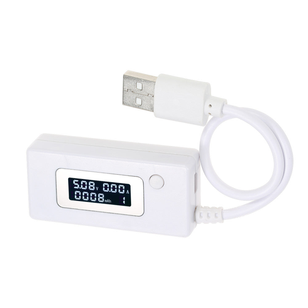 Digital OLED USB Current Voltage Meter Voltmeter Ameter Charger Capacity Tester for Phone Power Bank DC3-7V 0.05-3.50A
