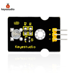 Brand New Keyestudio Digital White LED Light Module Compatible Board for Arduino - Black