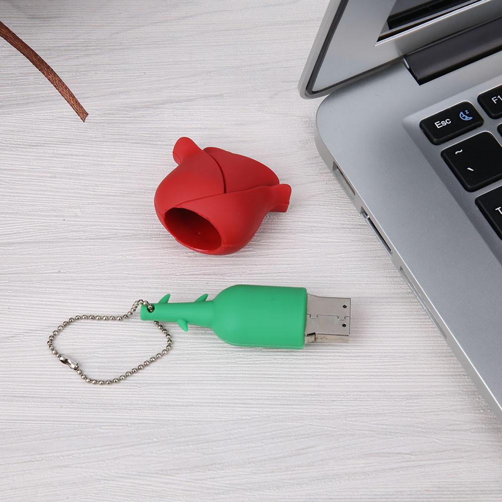Rose 8GB USB 2.0 Flash Pen Drive External Memory Stick Storage Pendrive U Disk