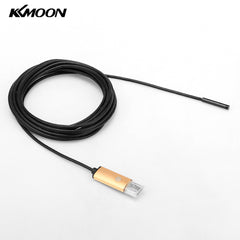 KKmoon 5.5mm 5m 2 in 1 Mini USB Endoscope Borescope Inspection Camera for Android Phones PC