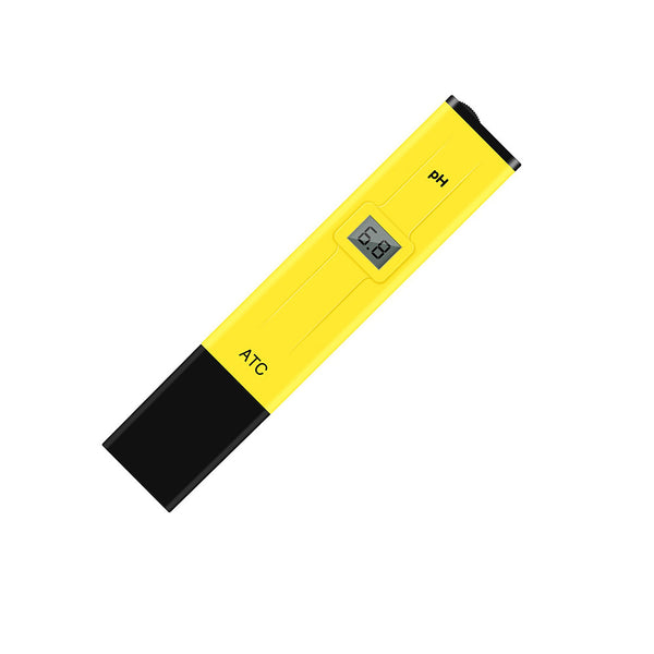 Digital LCD pH Test Pen Portable Auto Temp Compensation pH Meter High-Accuracy Aquarium Water Quality Tester