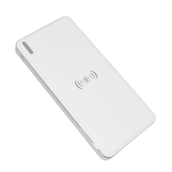 10000mAh Qi Standard Wireless Fast Battery Charger Universal Power Bank