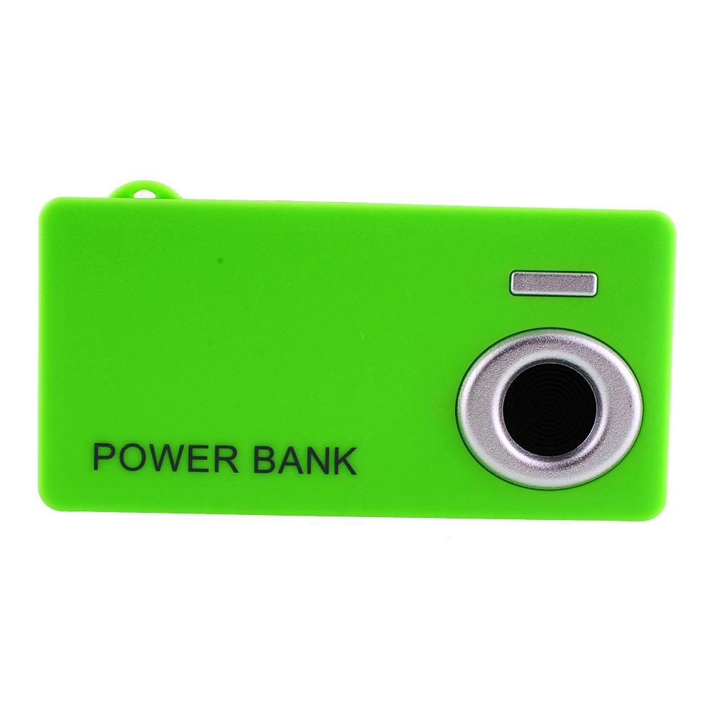 NEW Green Camera Self-timer 2X 18650 Battery Charger USB LED Power Bank DIY