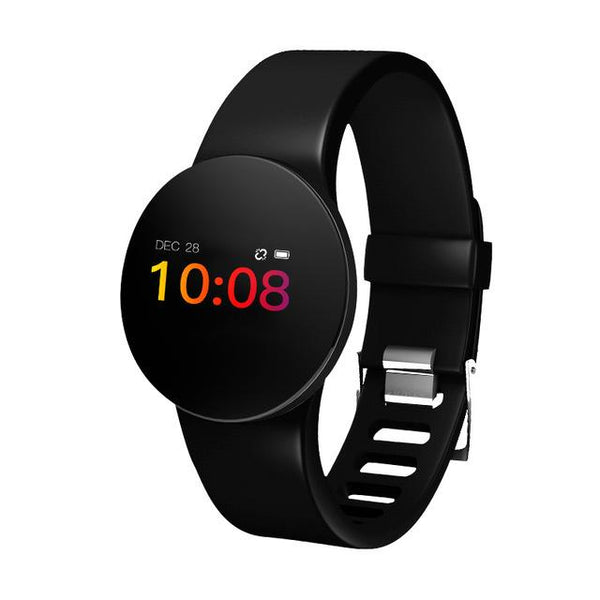 Heart Rate Monitor Smart Watch Blood Pressure Pedometer Running OLED Touch Smartwatch Waterproof Fitness Sport Watch Men Women