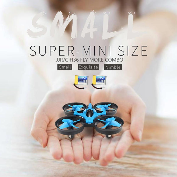 JJR/C H36 Portable Mini Drone RC Quadcopter 2.4GHz 4 Channels 6-Axis Gyroscope 3D Flip RTF Aerocraft With Headless Mode