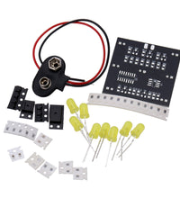 DIY Kit for Random LED Touch Dice Electronic Set with 7pcs LEDs